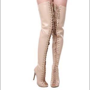 Zigi Girl Thigh High Boots - Worn Once